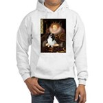 Queen/Japanese Chin Hooded Sweatshirt
