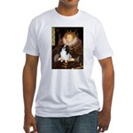 Queen/Japanese Chin Fitted T-Shirt