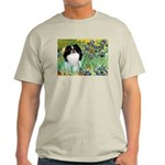 Irises/Japanese Chin Light T-Shirt
