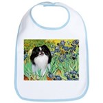 Irises/Japanese Chin Bib
