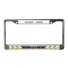 Unique Arabian License Plate Frame