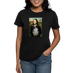 Mona Lisa/Japanese Chin Women's Dark T-Shirt
