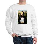 Mona Lisa/Japanese Chin Sweatshirt