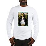 Mona Lisa/Japanese Chin Long Sleeve T-Shirt