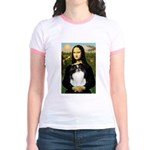 Mona Lisa/Japanese Chin Jr. Ringer T-Shirt