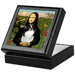 Mona Lisa/Japanese Chin Keepsake Box
