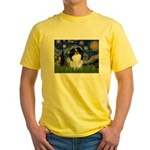 Starry/Japanese Chin Yellow T-Shirt
