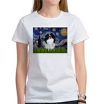 Starry/Japanese Chin Women's T-Shirt