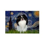 Starry/Japanese Chin Rectangle Magnet