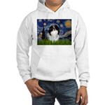 Starry/Japanese Chin Hooded Sweatshirt