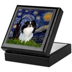 Starry/Japanese Chin Keepsake Box