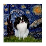 Starry/Japanese Chin Tile Coaster