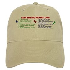 Saint Bernard Property Laws 2 Baseball Cap