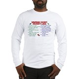 Siberian Husky Property Laws 2 Long Sleeve T-Shirt