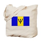 Barbados Blank Flag Tote Bag