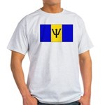 Barbados Blank Flag Light T-Shirt