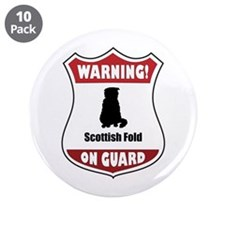 "Fold On Guard 3.5"" Button (10 pack)"
