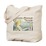 Biscuits Chocolat Delacre Vintage Ad Tote Bag