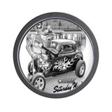 Crusin Saturday Night Wall Clock