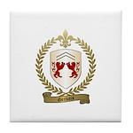 GERVAIS Family Crest Tile Coaster
