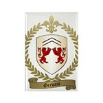 GERVAIS Family Crest Rectangle Magnet