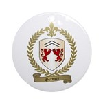 GERVAIS Family Crest Ornament (Round)