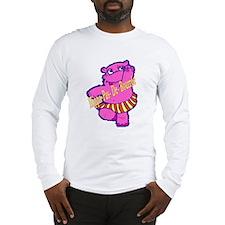 Hippo Dance Moves Long Sleeve T-Shirt