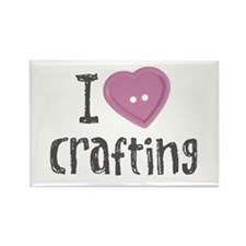 Cute I love scrapbooking Rectangle Magnet (10 pack)