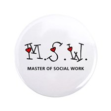 "MSW Hearts (Design 2) 3.5"" Button"