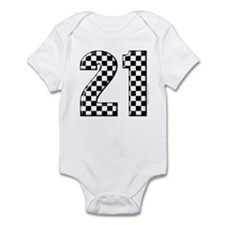 Race Car 21 Infant Bodysuit