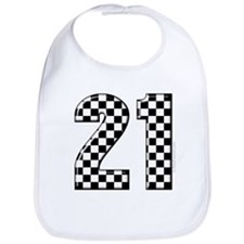 Race Car 21 Bib