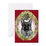 German shepherd Greeting Cards (20 Pack)