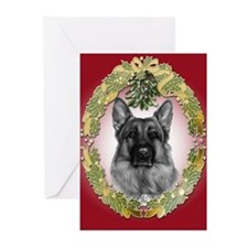 German Shepherd K9 Christmas Cards (Pk of 20)