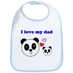 I LOVE MY DAD Bib