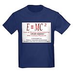 E=MC2 Kids Dark T-Shirt