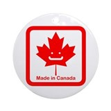Made In Canada + Smile Keepsake (Round)
