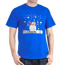 Snowman Snow Day T-Shirt