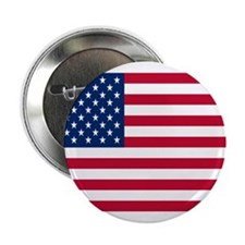 "American Flag 2.25"" Button (10 pack)"