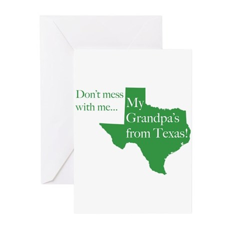 Grandpa's From Texas Greeting Cards (Pk of 10)