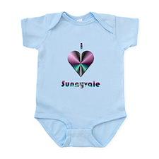 I Love Sunnyvale #2 Infant Bodysuit