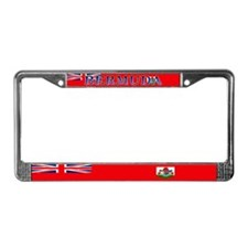 Bermuda Blank Flag License Plate Frame