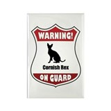 Rex On Guard Rectangle Magnet (10 pack)