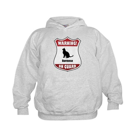 Burmese On Guard Kids Hoodie
