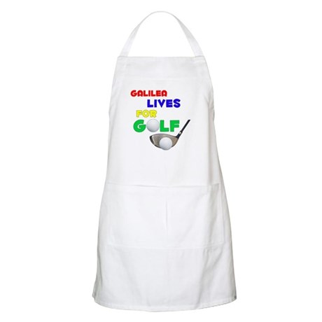 Galilea Lives for Golf - BBQ Apron