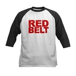 RED BELT 1 Kids Baseball Jersey