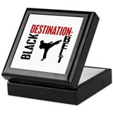 Destination Black Belt Keepsake Box