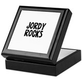 Jordy Rocks Keepsake Box
