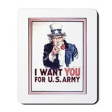 Cute Sam's army Mousepad
