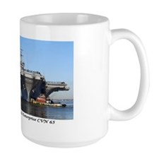 USS Enterprise CVN65 Coffee Mug