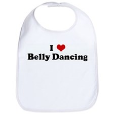 I Love Belly Dancing Bib